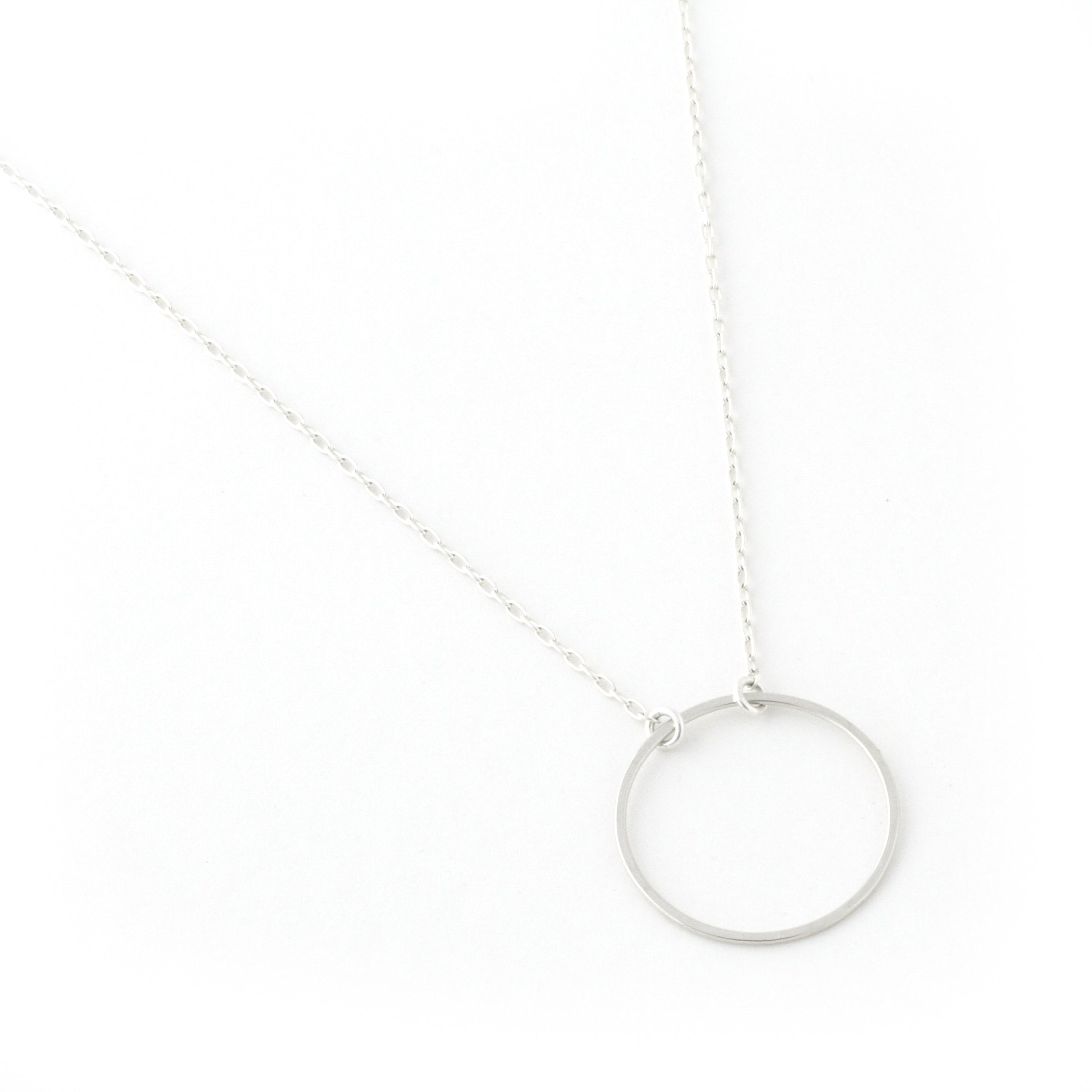 Eclipse Circle Necklace