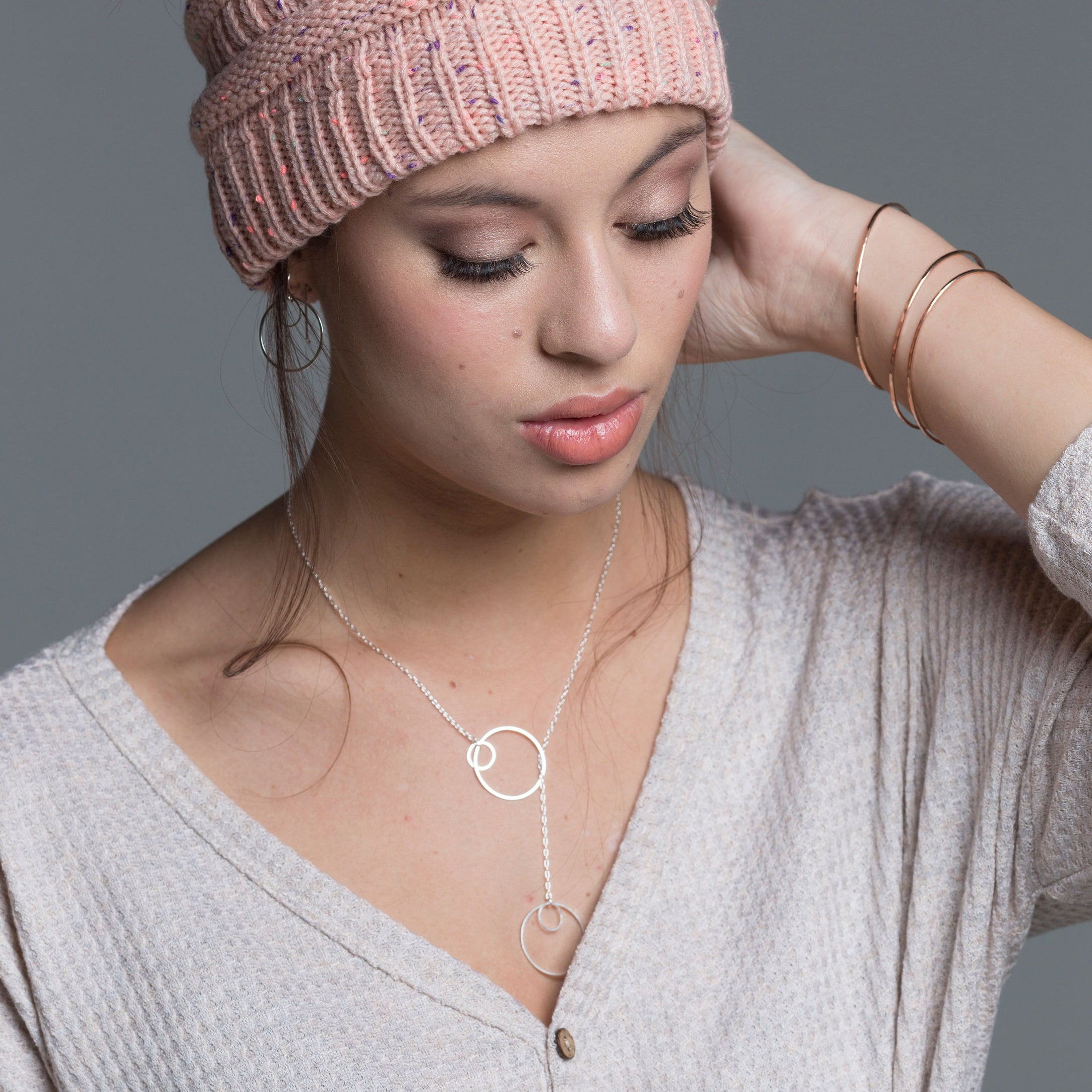 Embrace Lariat Necklace