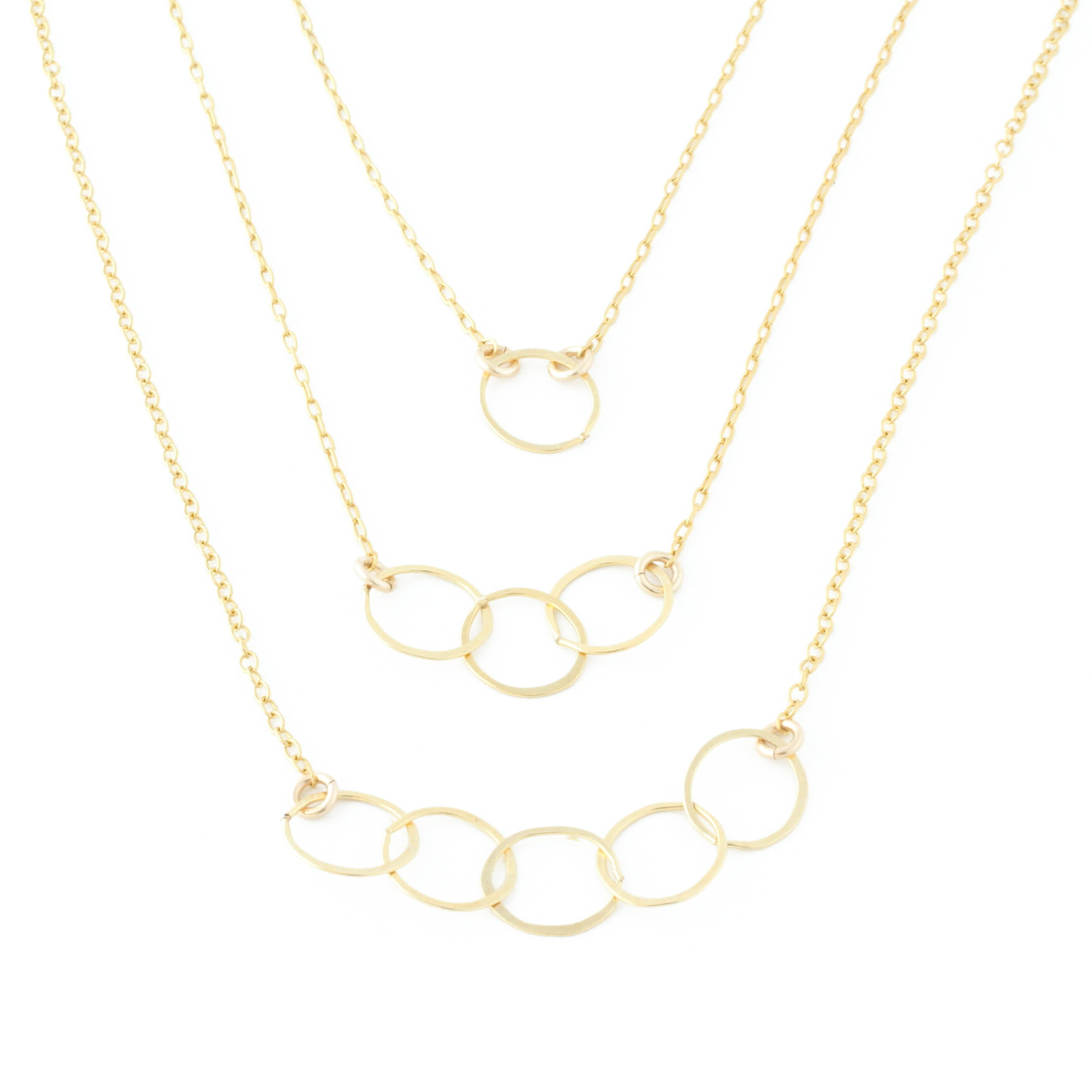 Champagne Necklace (Triple)