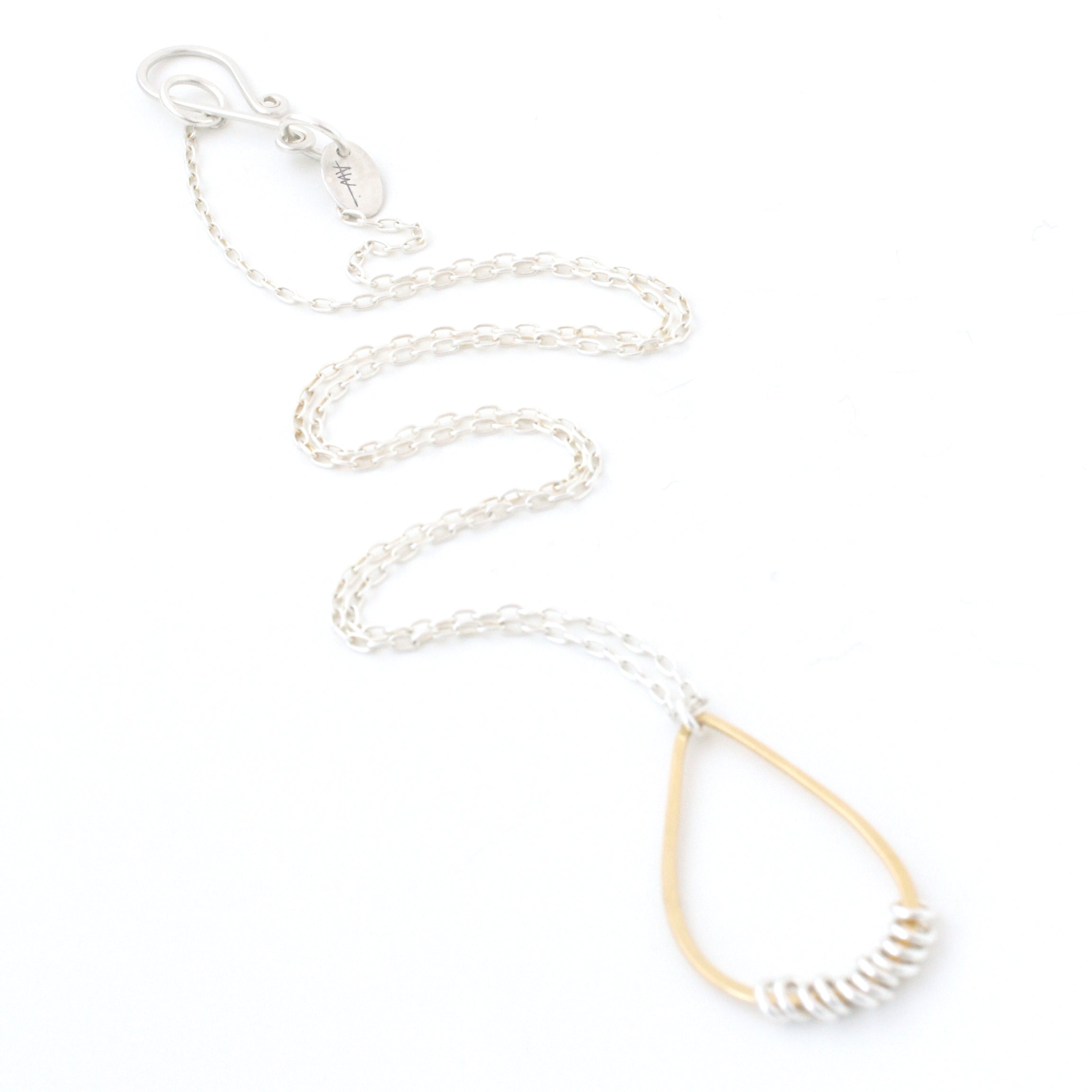 Suspended Necklace (Gold-Filled)