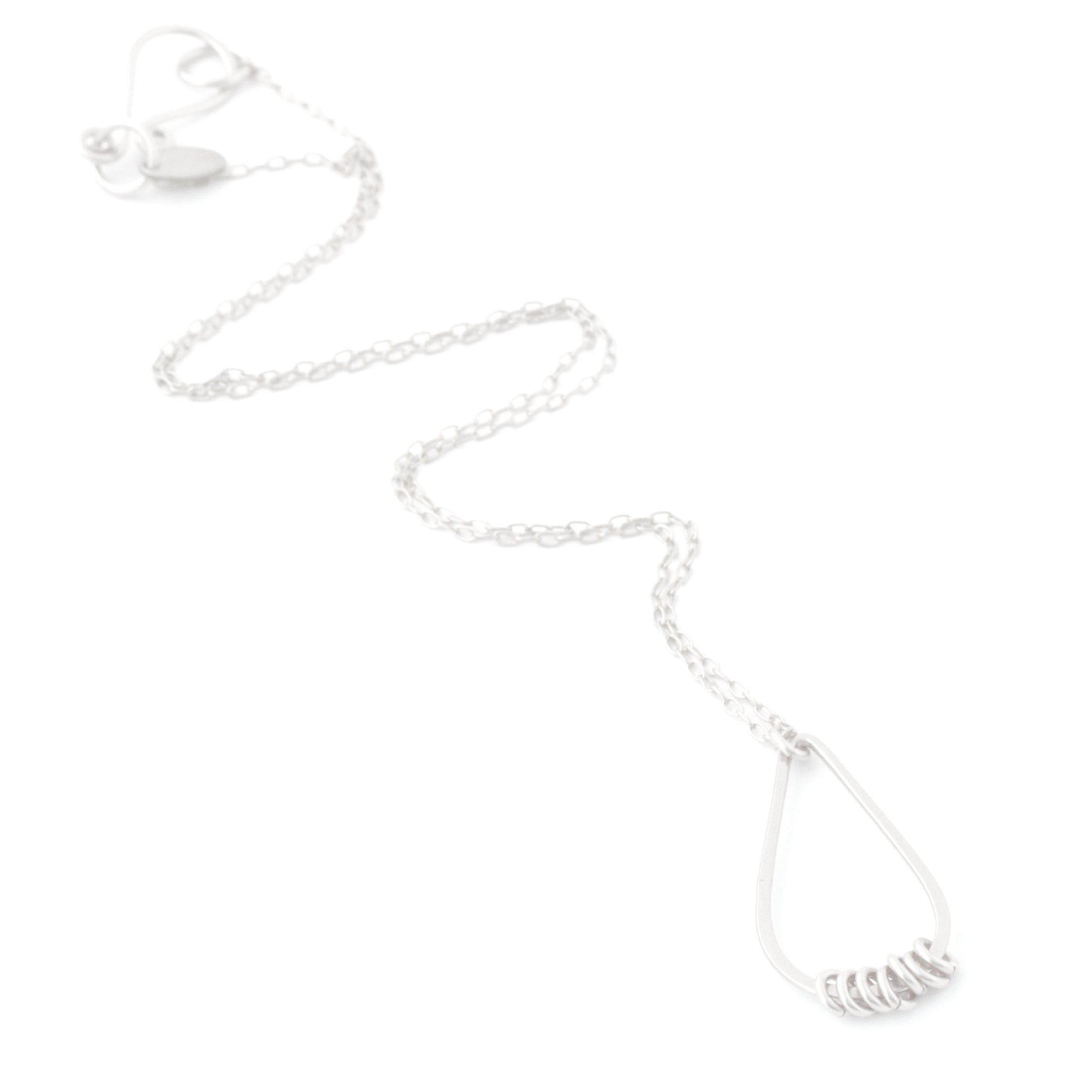 Suspended Necklace (Sterling Silver)