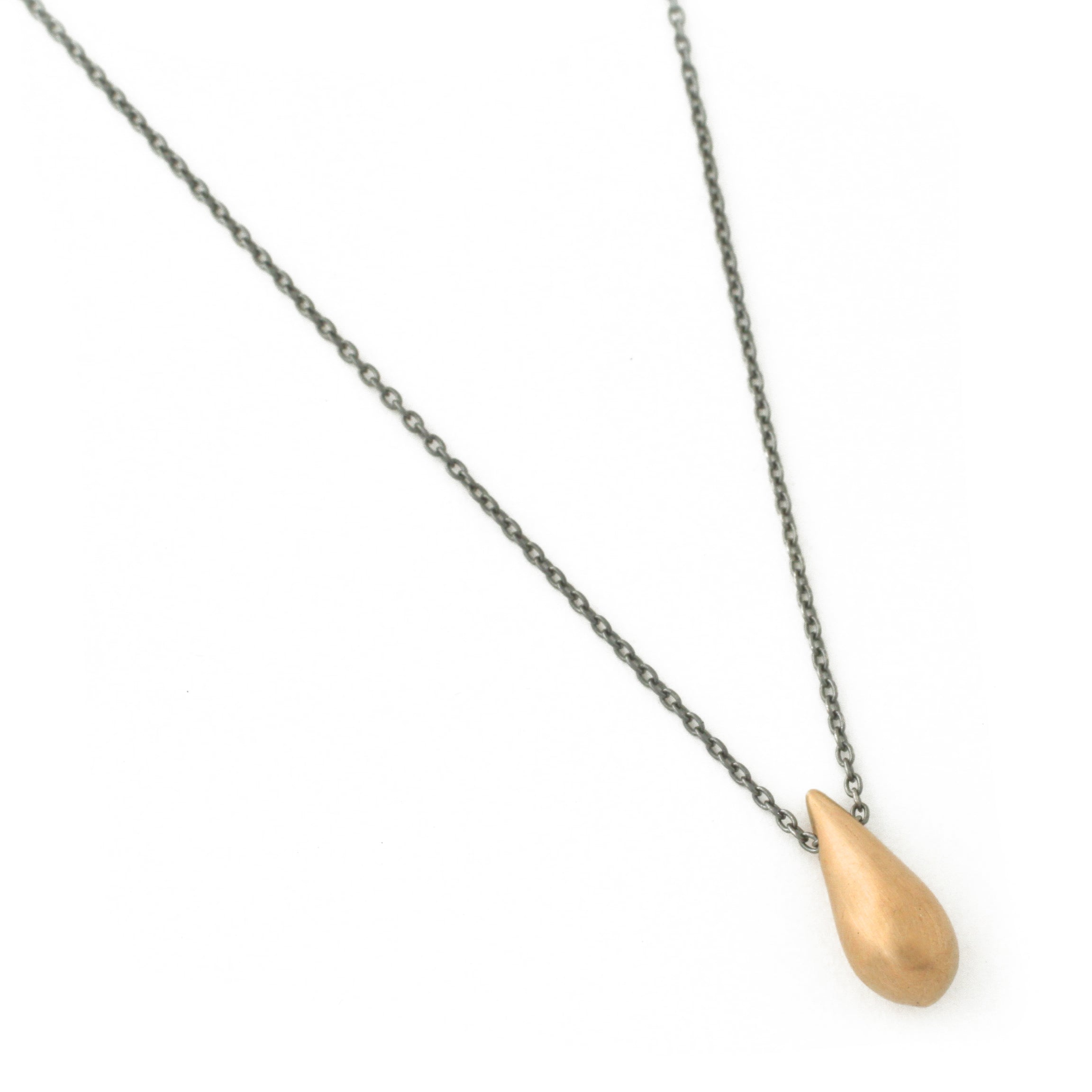 Raindrop Necklace (Large Bronze)