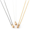 Raindrop Necklace (Small Bronze)