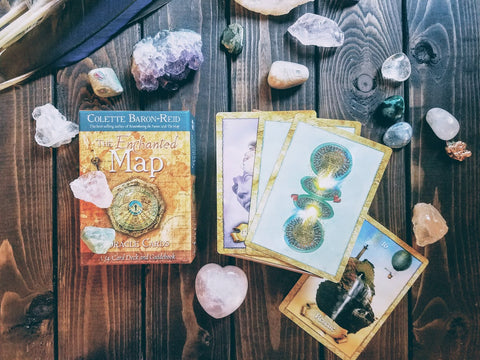Your Enchanted Map Oracle Reading