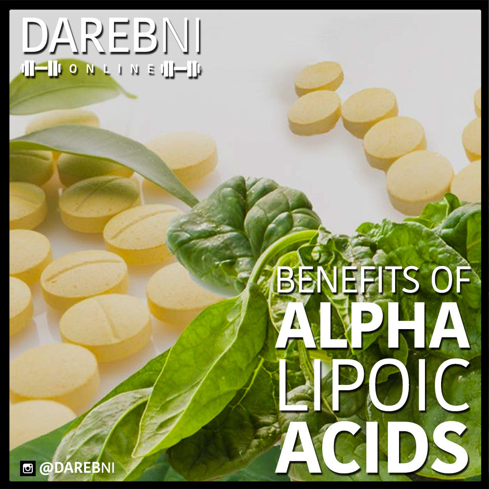 Alpha Lipoid Acid ألفا ليپُوِك آسيد