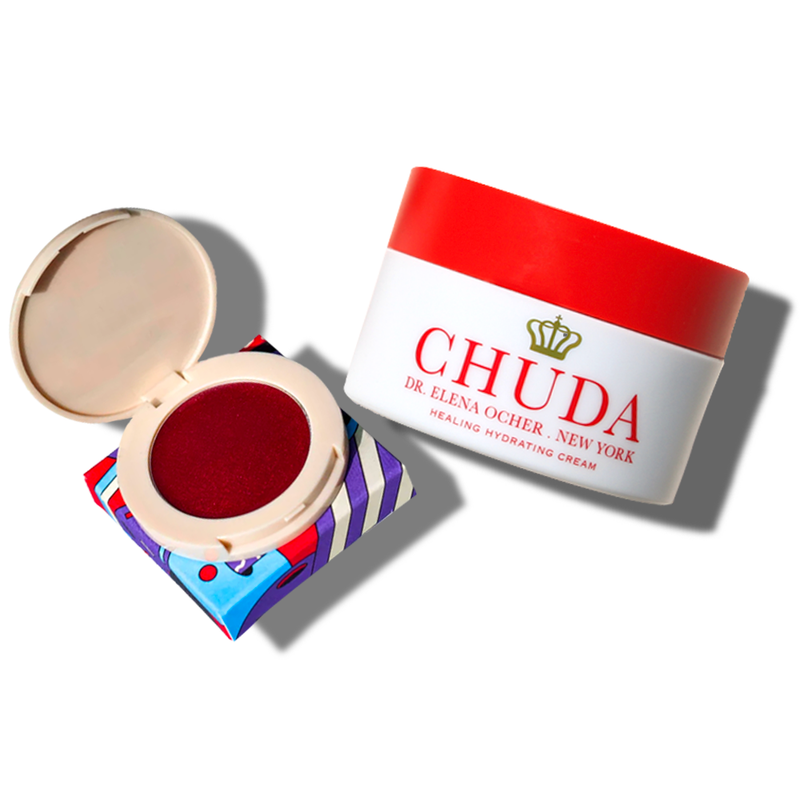 Chuda Healing Hydrating Cream (30ml)  + Holiday Blilighter – Cherry