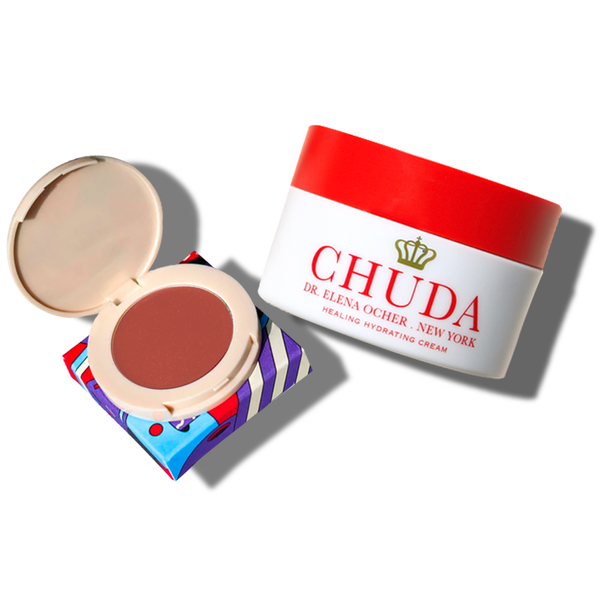 Chuda Healing Hydrating Cream (30ml)  + Holiday Blilighter – Nude