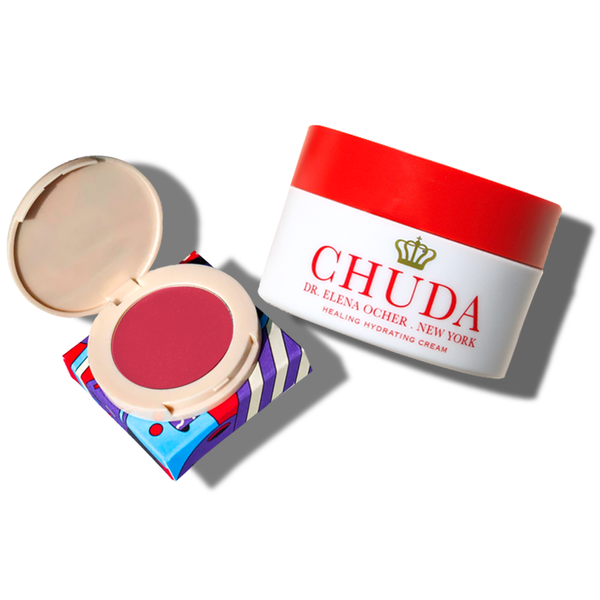 Chuda Healing Hydrating Cream (30ml)  + Holiday Blilighter – Pink