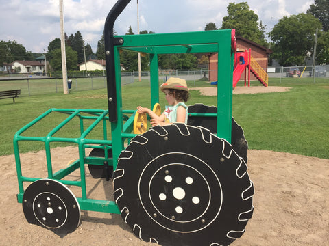 park tractor