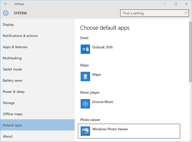 How to change your default programs in Windows 10