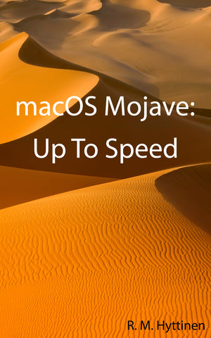 macOS Mojave: Up To Speed (PDF)