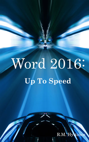 Word 2016: Up to Speed (PDF)