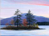 Autumn Twilight, Lake Megunticook