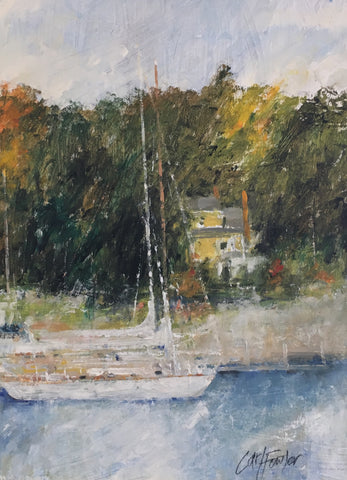 Fine Art And Custom Framing In Camden Maine Featuring Local Artists
