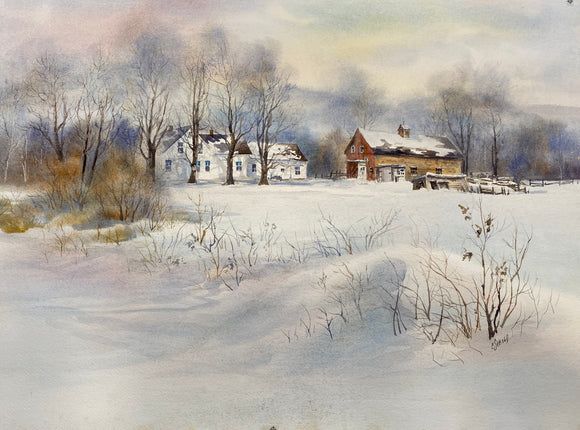 Winter House - original