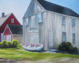 Maine Coast Barn