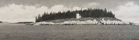 Mark Island Lighthouse - original graphite
