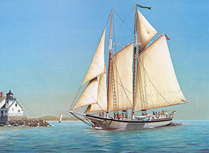 Schooner Lewis R French