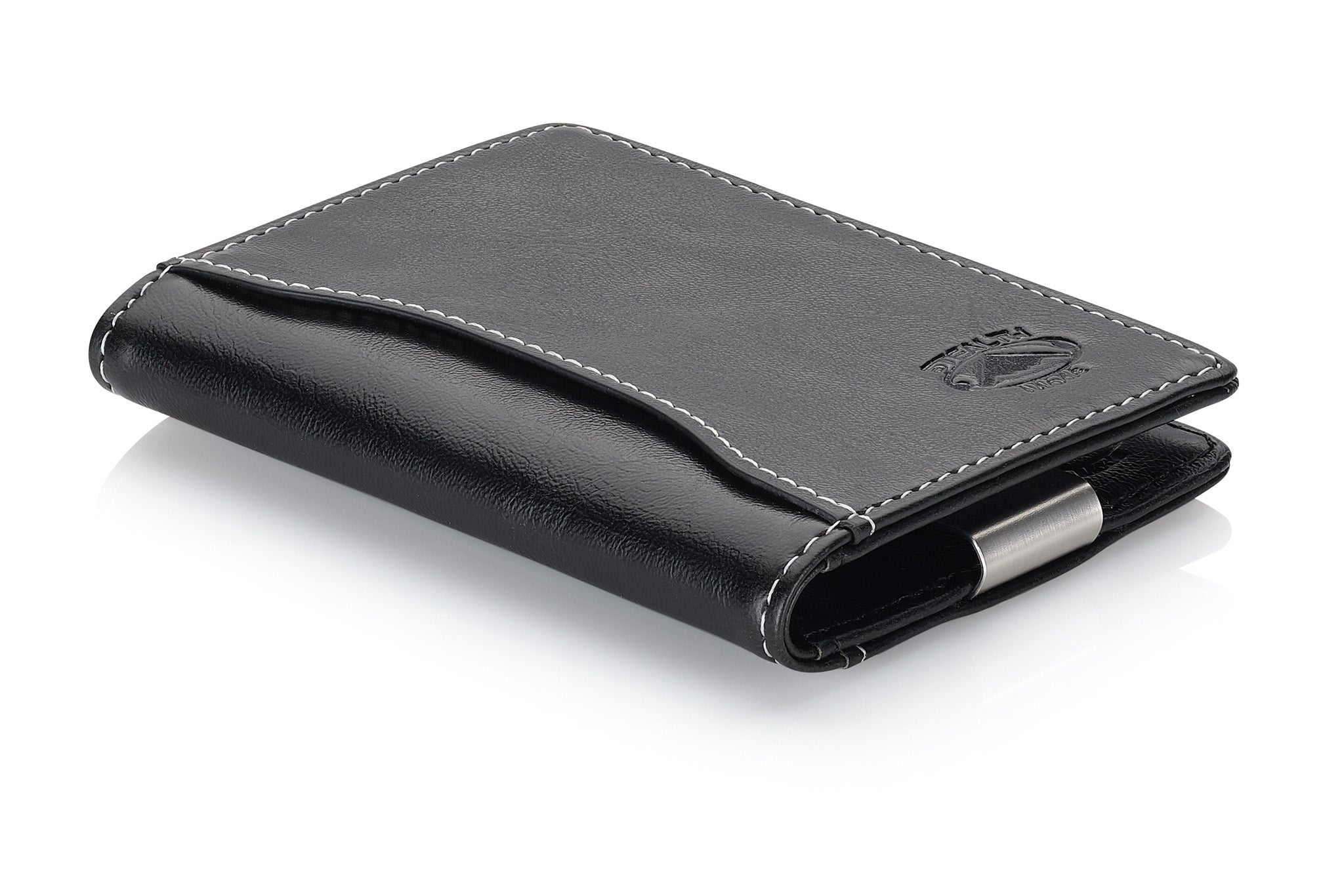 Slim Front Pocket Money Clip Wallet for Men with RFID Blocking