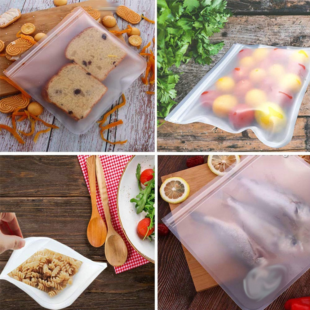Silicone Food Bag - 6 Pack*