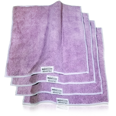 [NEW EDITION] Lavender NanoTowels® Replaces Expensive Paper Towels And Toxic Chemical Cleaners