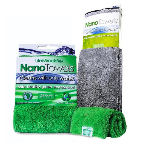 Image of 2-Pack NanoTowel (Green + Grey)