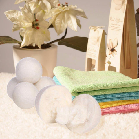 Image of Wooler™ Organic Wool Dryer Balls - 6pcs Special [FREE SHIPPING]