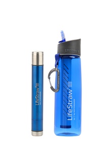 1 x LifeStraw Steel + 1 x LifeStraw GO 2.0
