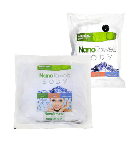 Image of Ultimate Shower Kit (1 x Full Body NanoTowel + 1 x Hair Dry Wrap)