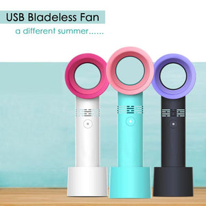 Lena™ - Handheld Bladeless Cooling Mini Fan
