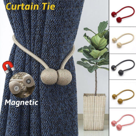 Magnetic Pearl Curtain Tiebacks