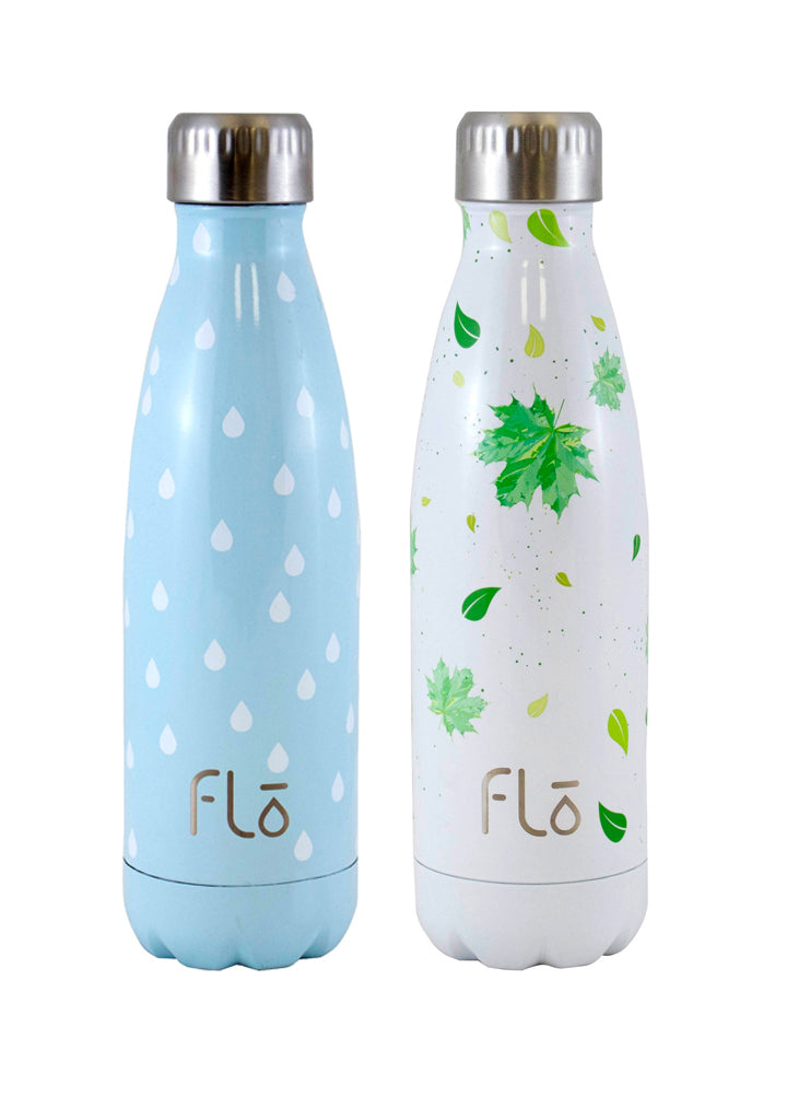 Flo Bottle (Charity : Water) + Flo Bottle (Trees for the Future)
