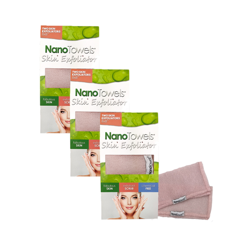 Image of NanoTowels Skin Exfoliator - 3 Pack Special