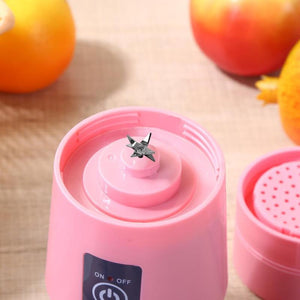 Mini Rechargeable 6-Blade Smoothie Maker