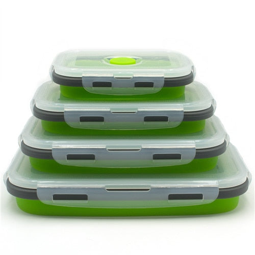 LunchBud™ - Collapsable Lunch Box (4pcs)*