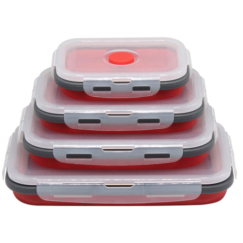 Image of LunchBud™ - Collapsable Lunch Box (4pcs)*