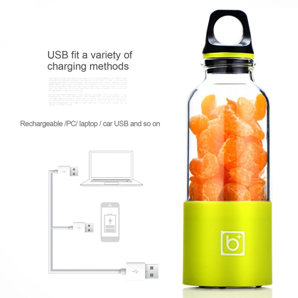 USB Rechargeable Blender Bottle