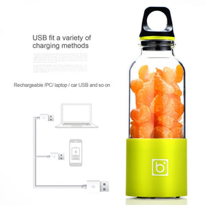 ShakeWell™ - USB Rechargeable Blender Bottle For Instant Nutritious Smoothies