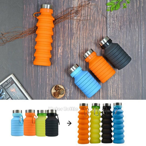 Image of Eco-Friendly Collapsible Bottle