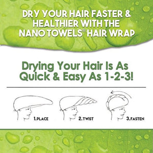 [NEW] SPECIAL EDITION - Aqua NanoTowel Hair Drying Wrap*