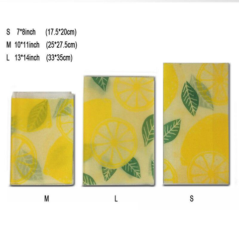 Image of BeeMee™ - Reusable Beeswax Food Wrap (Pack of 6)*