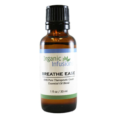 Organic Breathe Ease Blend - USDA Certified (30ml)