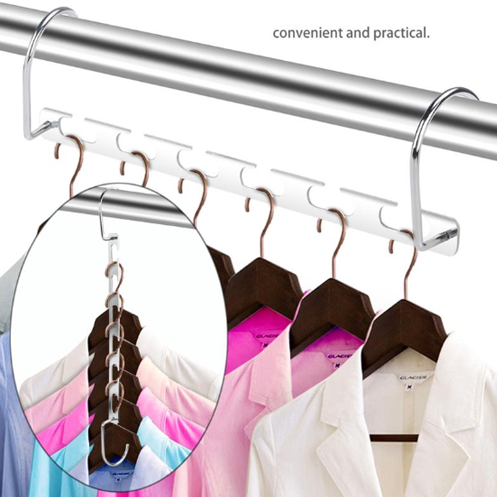 Ultimate Closet Set - Closet Space Saver + Stackable Clothing Organizer Board