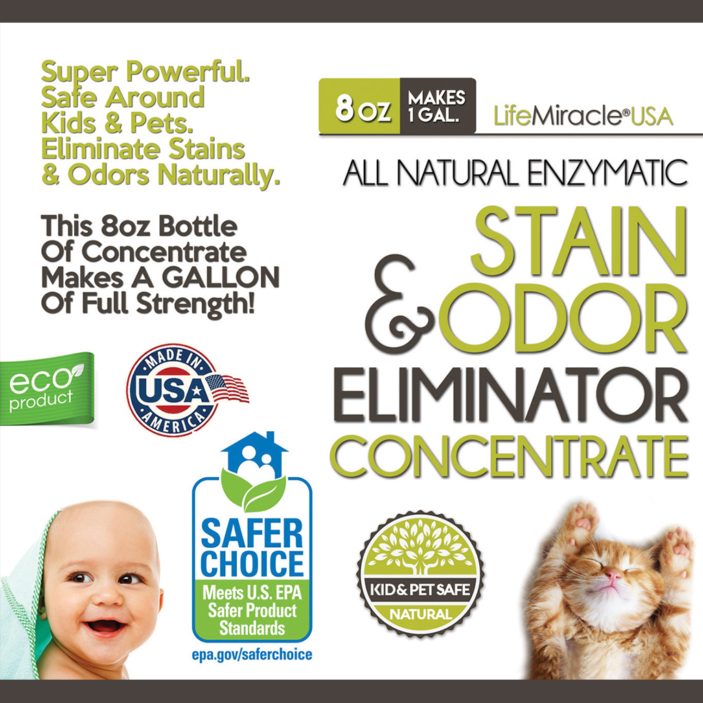 World's First Plant-Based Enzyme Concentrate That's Highly-Effective To Clean All Fabric Stains