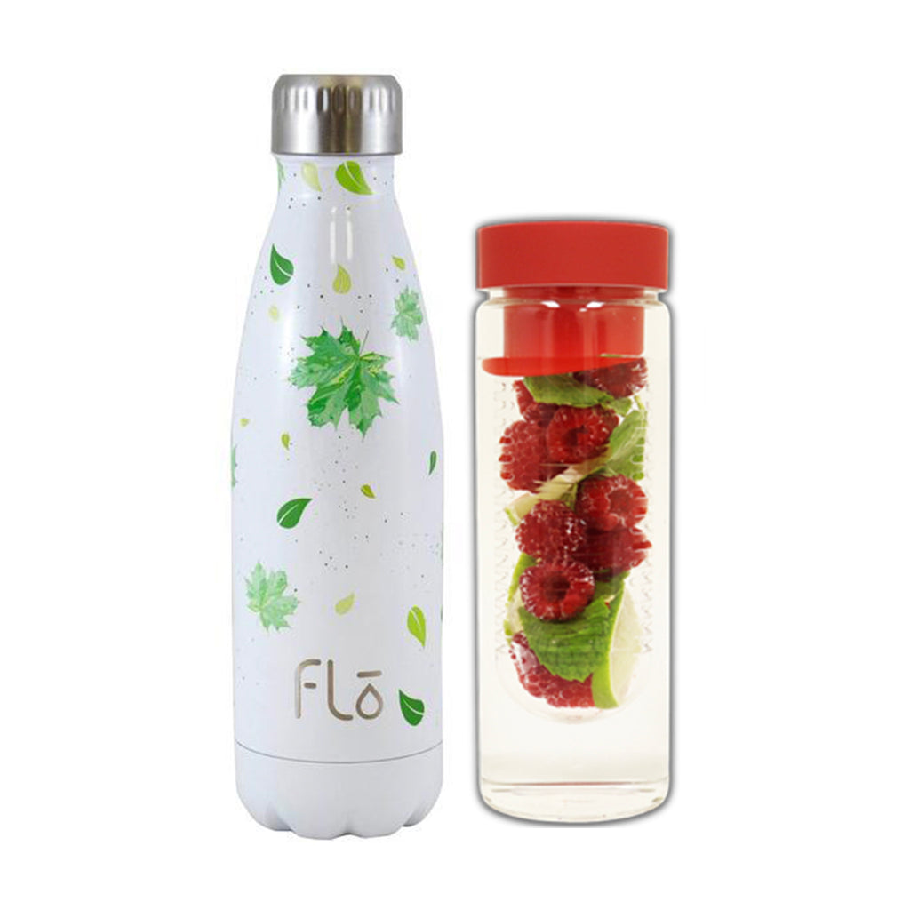 Flo Bottle (Trees for the Future) + Fruit Infuser