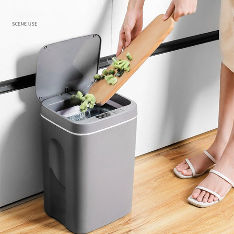 Image of GenCan™ USB Charging Smart Trash Can - Special Price