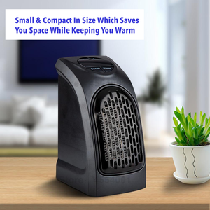 HeatPLUS™ Personal Electric Plug-In Heater