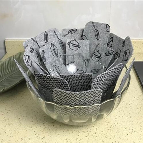Image of Non-Stick Pot & Pan Protector (5pc)