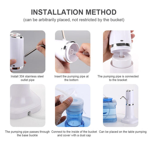 Image of SmartSpout™ - Electric Water Dispenser For Easy Water Access & Injury Prevention