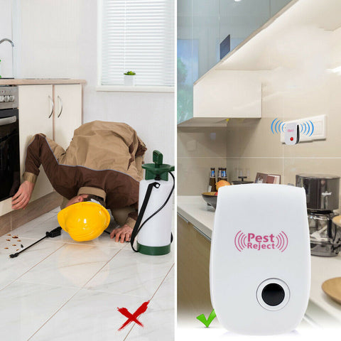 PestReject™ Ultrasonic Plug-In Pest Repeller - Special Price